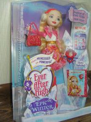 Кукла Ever After High Epic Winter Apple White дочь Белоснежки