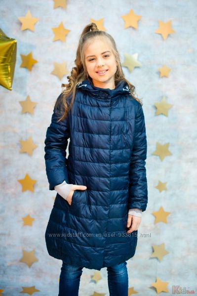 Куртка демисезонная синего цвета для девочки Snowimage