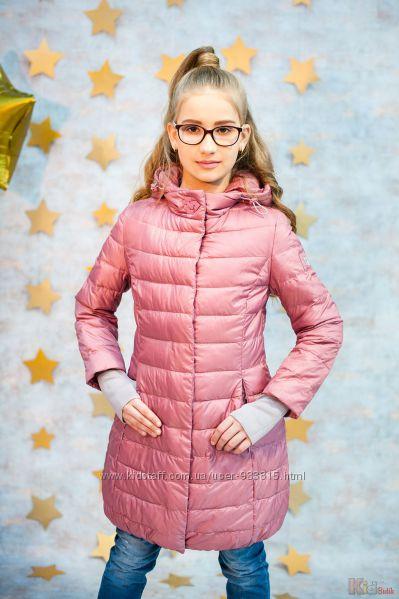 Куртка демисезонная розового цвета для девочки Snowimage