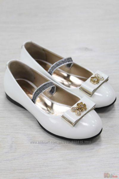 Туфельки для девочки с красивым декором Kemal Pafi
