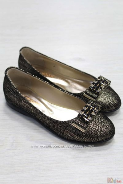 Туфли для девочки невероятно интересной и оригинальной окраски Kemal Pafi