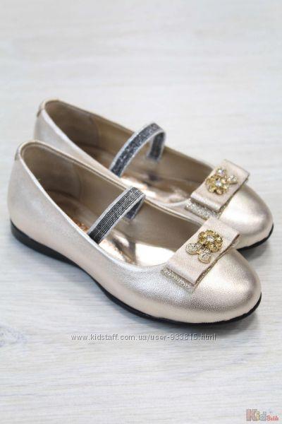 Туфли с бантиком для девочки Kemal Pafi