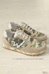 Кроссовки с вставками камуфляжной расцветки Balducci