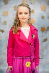Кофта трикотажная розового цвета для девочки Smooch