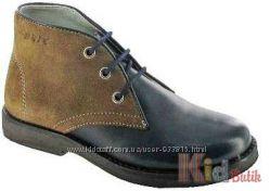 Ботинки на шнурках для мальчика в стиле chukka boots Bartek