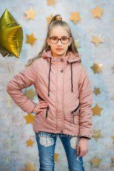 Куртка демисезонная темно-розового цвета для девочки Zuzzi