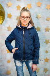 Куртка демисезонная синего цвета для девочки Zuzzi