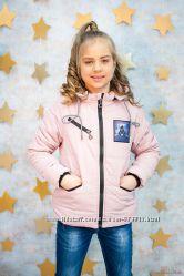 Куртка демисезонная розового цвета для девочки Zuzzi