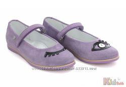 Туфли фиолетовые для девочки Bartek