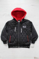Куртка-бомбер с капюшоном для мальчика XMBB