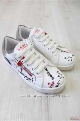 Кроссовки белого цвета для мальчика Balducci