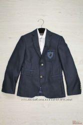 Тёмно-синий пиджак для мальчика Herdal