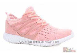 Кроссовки нежно-розового цвета для девочек Bartek