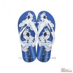 Летние вьетнамки для мальчика синего цвета Ipanema