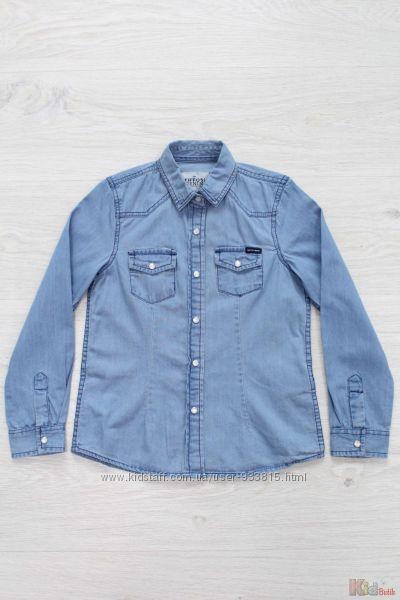 Рубашка джинсовая с перламутровыми кнопками Tiffosi