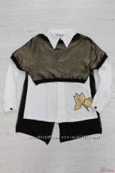 Блуза 2-ка оригинального кроя Bulicca