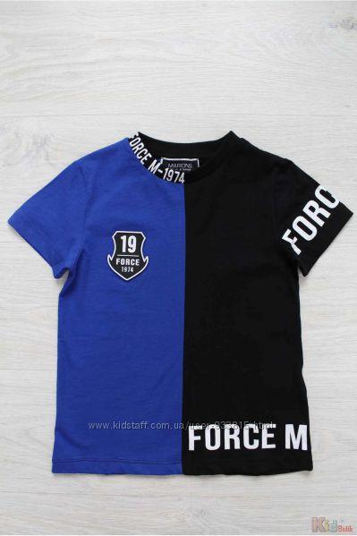 Футболка сине-черная для мальчика Marions