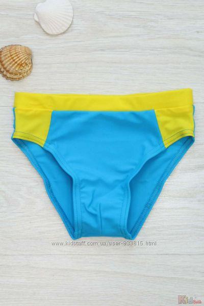 Плавки Racing Blue & Yellow Keyzi