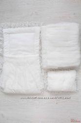 Набор для новорожденной девочки одеяло, конверт, подушка Bebetto