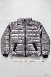 Куртка демисезонная серебристая для девочки Marions