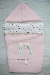 Конверт для девочки, нежно розового цвета BBX