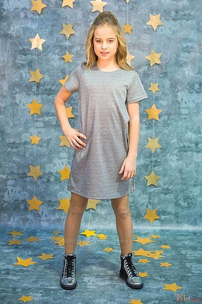 Платье с лампасами для девочки Tiffosi