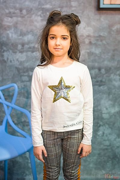 Реглан для девочки со звездочкой Tiffosi