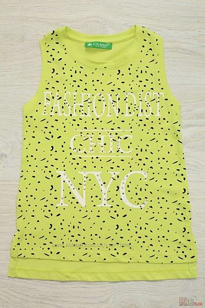 Майка с удлинённой спинкой Fashion dist chic NYC Cichlid