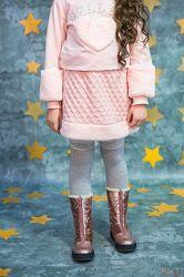 Юбка из рельефной ткани для девочки Pamina