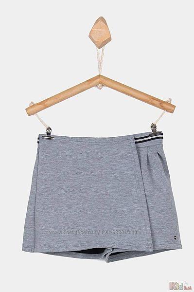 Юбка-шорты короткие серые плотные Tiffosi