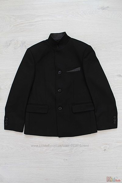 Пиджак черного цвета для мальчика Nanica