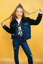 Куртка джинсовая для девочки A-yugi Jeans