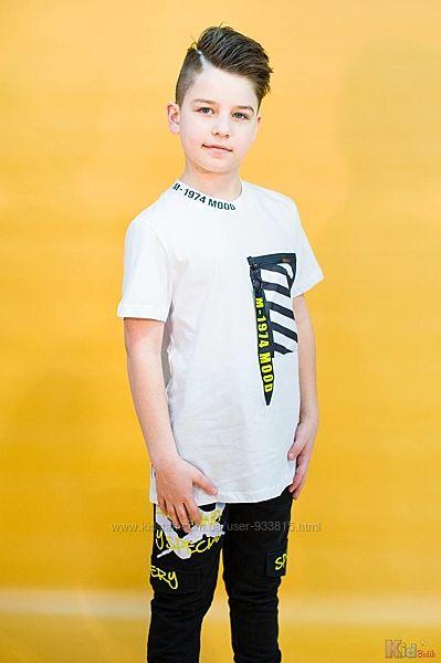 Футболка с накладным карманом для мальчика Marions