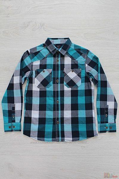Рубашка в клетку для мальчика Fabricio Tiffosi