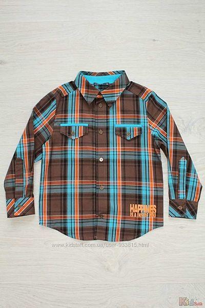 Рубашка в клетку для мальчика Wojcik