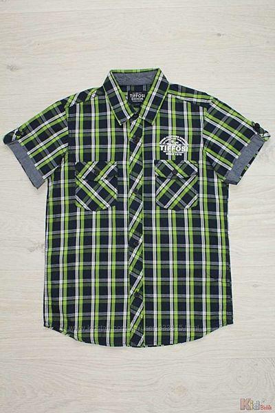 Рубашка в клетку для мальчика Tiffosi