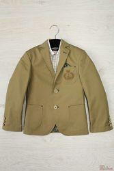 Пиджак для мальчика оливковый Herdal