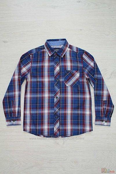 Рубашка в яркую клеточку для мальчика Tiffosi