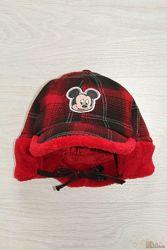 Шапка в клетку с Микки Маусом  для мальчика Disney