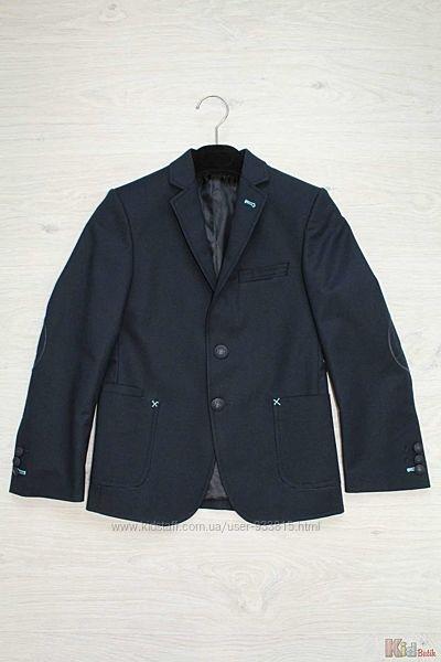 Пиджак для мальчика тёмно-синий Herdal