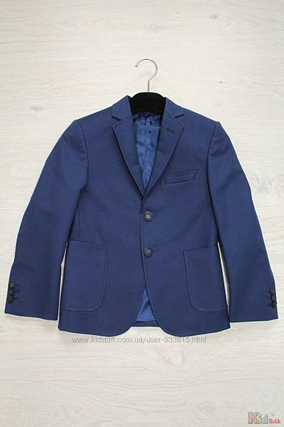 Пиджак для мальчика ярко-синий Herdal