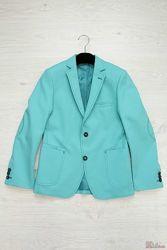 Пиджак для мальчика бирюзовый Herdal