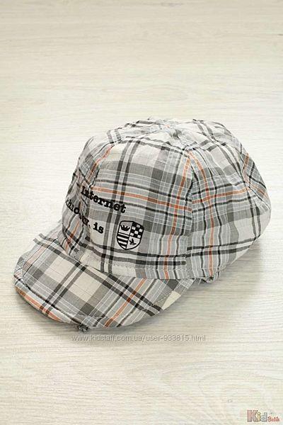 Шапка для мальчика кепка с ушками на завязках Trestelle