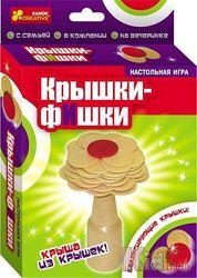 Настольная игра Крышки-фишки Ranok-Creative