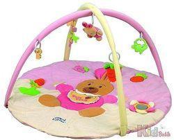 Развивающий коврик для новорожденной Кролик Canpol