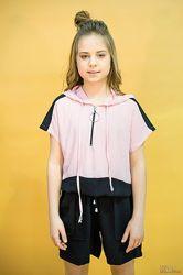 Блуза с капюшоном для девочки Marions
