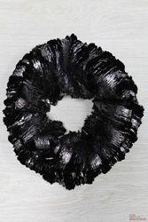 Хомут чёрного цвета для девочки Wojcik