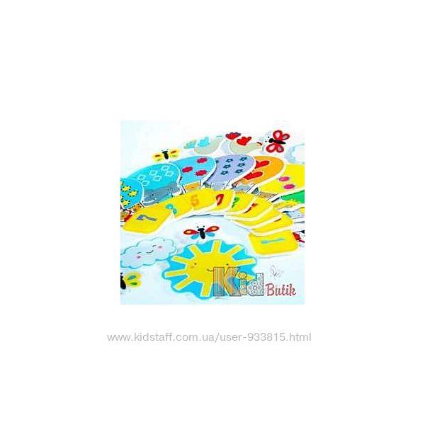 Игровой набор для ванной стикеры Веселый Счет Meadow Kids