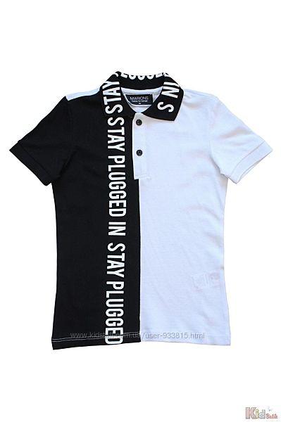 Тениска комбинированная для мальчика Marions