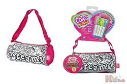 Мини-сумочка Color me mini. Розовая Мечта, 4 маркера, 21 см, 6 Simba